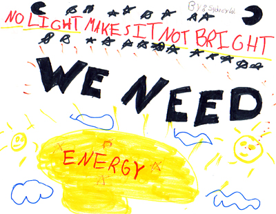 Students Learn About Energy And Make Conservation Posters This Poster Was Made By Samantha Hudson From Mrs Whites Class