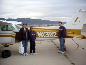 Here we are again with the Cessna 172 airplane.