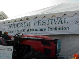 This is where they hold most all of the contests, like the avocado art contest and the growing contest.