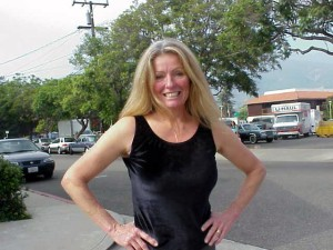 Bonnie Curtis, of the Curtis Dance Studio. Her students are a popular entertainment feature at Linden Avenue events.