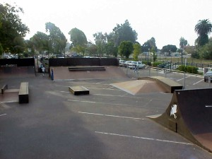 The Skate Park is located very close to Linden Avenue.