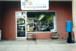 The front of the ABC Consignment Store.