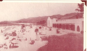 This is a picture of the Cerca Del Mar Beach Clubhouse in 1933.