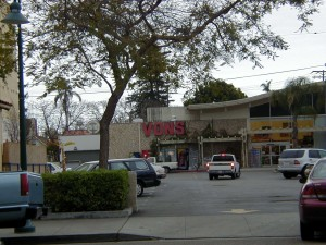 Vons from across the street.